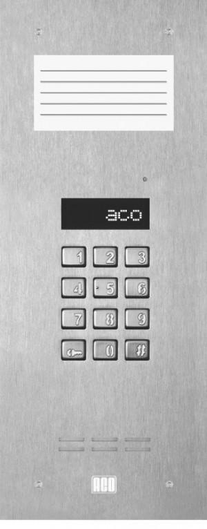 ACO INSPIRO 9S slave do 255 lokali, LCD, bez kamery ze spisem lokatorów.