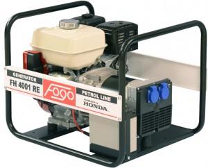 Agregat prądotwórczy FOGO FH 4001RE 4.2kVA AVR Rozrusznik