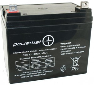 Akumulator PowerBat AGM 33Ah