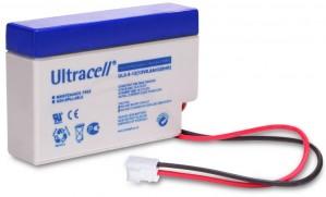 """Akumulator AGM ULTRACELL UL 12V 0.8AH (terminal JST) """"żelowy"""""""