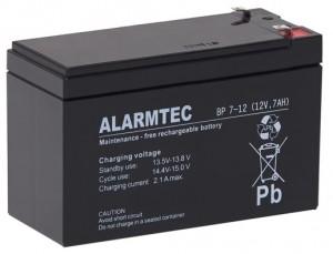 Akumulator ALARMTEC serii BP 12V 7Ah