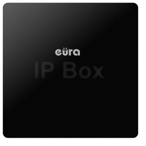 BRAMKA IP (IP BOX) ''EURA'' VDA-99A3 ''EURA CONNECT'' - obsługa 2 kaset zewnętrznych, monitora i kamery