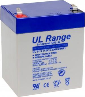 "Akumulator AGM ULTRACELL UL 12V 5AH ""żelowy"""
