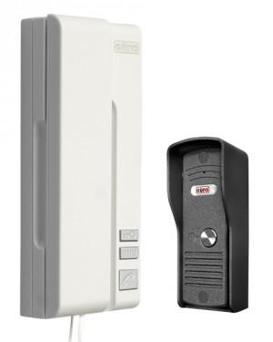 DOMOFON ''EURA'' ADP-31A3 ''UNO BIANCO'' 1-rodzinny biały mała kaseta zewnętrzna