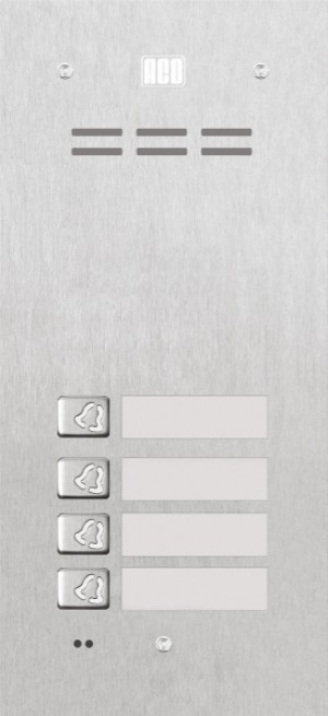 ACO FAM-P-4NPACC panel pod tynk 4-rodzinny czyt. brel.