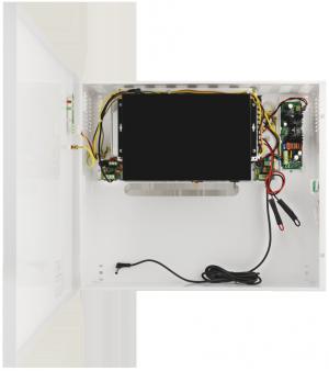 Switch z zasilaczem buforowym PULSAR SF108-BR