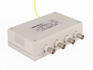 4-kanałowy panel zabezpieczający HD z konwerterem UTP EWIMAR LHD-4-PRO-FPS