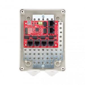 Switch PoE 6 portowy 5P+1UP ATTE xPoE-6-11-S3