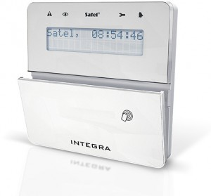 Manipulator Satel INT-KLFR-WSW czytnik RFID, GRADE3