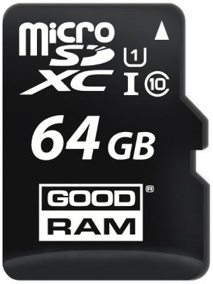 KARTA PAMIĘCI microSD GOODRAM UHS1 CL10 64GB + ADAPTER 100MB