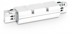 Łącznik szynoprzewodów SCENA WI, kolor biały