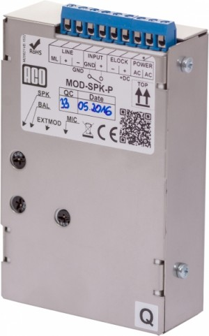 Moduł rozmówny ACO MOD-SPK-P ( do zabudowy )