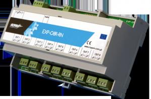 Moduł rozbudowy wyjść ROPAM EXP-O8R-RN-D9M