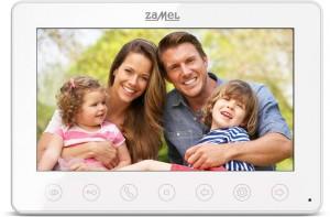 Monitor wideodomofonu ZAMEL 7'' VP-807W