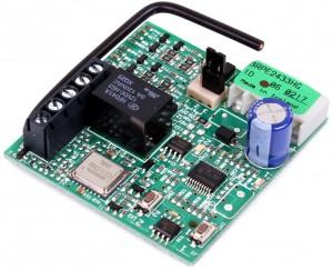 Odbiornik 2-kanałowy Genius 433 MHz BRAVO wtykalny