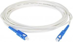 PATCHCORD ŚWIATŁOWODOWY SM 1M EASY FLEX SC/UPC - SC/UPC G657.B3