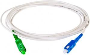 PATCHCORD ŚWIATŁOWODOWY SM 2M EASY FLEX SC/APC - SC/UPC G657.B3