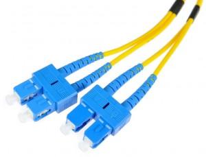 PATCHCORD ŚWIATŁOWODOWY SM 3M DUPLEX 9/125, SC/UPC-SC/UPC 3MM