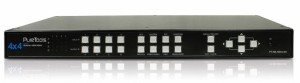 PureLink PT-MA-HD44-QV - HDMI 4x4 QuadView
