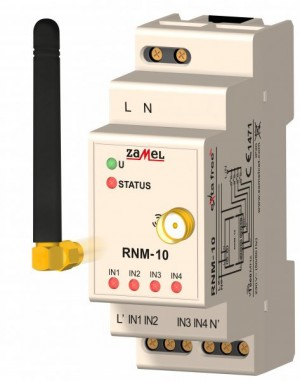 Radiowy nadajnik modułowy 4-kan. EXTA FREE RNM-10