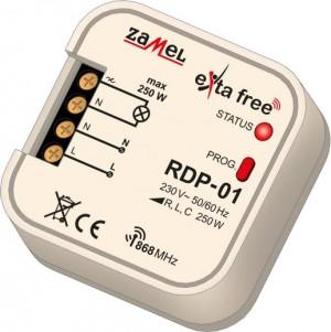 Radiowy ścieminacz dopuszkowy 1-kan. EXTA FREE RDP-01