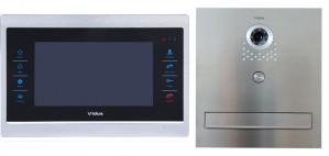 Skrzynka na listy Vidos z monitorem M901-S /S551-SKM