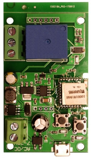 EL-HOME WS-70H1 STEROWNIK WiFi - sterownik do bram, monostabilny, bistabilny, DC 5V, DC 7-32V,