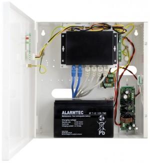 SWITCH GIGABIT POE 6-portowy zasilaczem buforowym PULSAR SG64-B