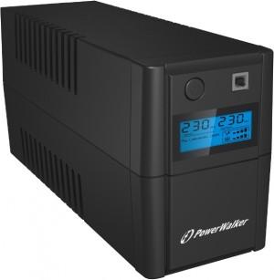 UPS ZASILACZ AWARYJNY POWER WALKER VI 650 SHL LCD