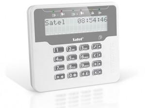 Manipulator Satel VERSA-LCDR-WH z czytn. RFID