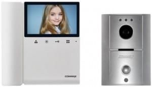"""WIDEODOMOFON COMMAX  CDV-43K2/DRC-4L 4,3"""" srebrny"""