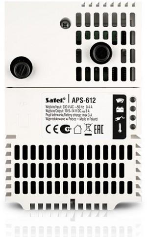 Zasilacz buforowy SATEL APS-612