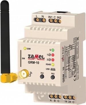 Zdalny sterownik modułowy GSM 2-kan. EXTA FREE GRM-10