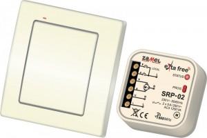 Zestaw sterowania bezprzew. EXTA FREE RZB-03 (RNK02+SRP02)