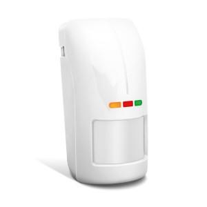 Zewnętrzny dualny czujnik ruchu SATEL OPAL Pro (biały, bez uchwytu)